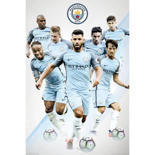 Poster Manchester City Players 21