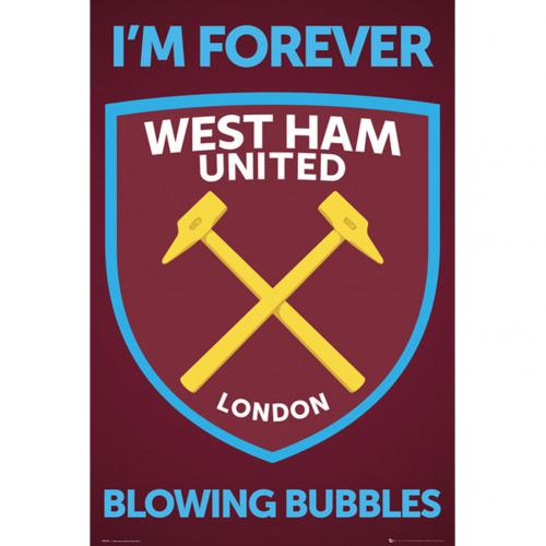 Poster West Ham United Crest 35