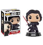 Funko - Pop! Star Wars - Kylo Ren (Battle Damage) (Bobble-Head)