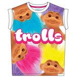 Trolls - Big Print Sublimation (T-SHIRT Donna )