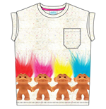 Trolls - Troll Friends (T-SHIRT Donna )