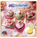 Sailor Moon - Henshin Compact Mirror Set (Set 5 Soggetti Diametro 5/6 Cm)
