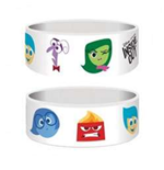 Inside Out - Characters (Braccialetto Gomma)