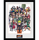 Naruto Shippuden - Group (Foto In Cornice 30x40cm)