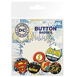 Dc Comics - Retro (Badge Pack)