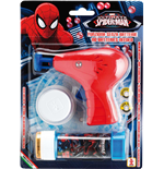 Dulcop Bubble World - Bolle Di Sapone - Pistola Bolle Meccanica Piccola - Spider-Man - Blister 1 Pz 60 Ml