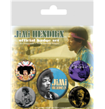 Jimi Hendrix (Pin Badge Pack)