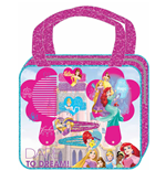 Principesse Disney - Set Accessori Per Capelli In Borsetta Glitter