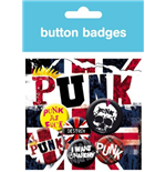 Punk - Union Jack (Badge Pack)
