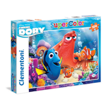 Puzzle 104 Pz - Alla Ricerca Di Dory - Friends Make Life Colorful