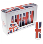 Union Jack - Flag (Set 4 Bicchierini)