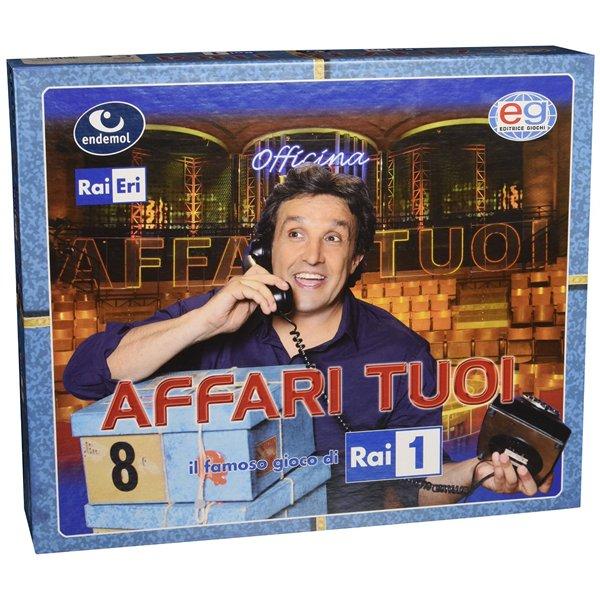 Affari tuoi per soli 41 90 su merchandisingplaza italia - Gioco da tavolo affari tuoi ...