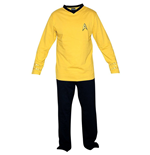Pigiama Uomo Star Trek - Yellow Union Suit