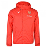 Giacca Impermeabile Arsenal 2016-2017 (Rosso)