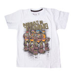 Teenage Mutant Ninja Turtles - White Ninjas In Training (T-Shirt Bambino Tg. )