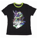 Teenage Mutant Ninja Turtles - Black Donnie (T-Shirt Bambino Tg. )