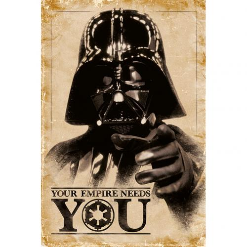 Poster Star Wars Empire Needs You 250