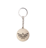 Nintendo - Zelda Triforce Logo Golden Coin Gold (Portachiavi In Metallo)