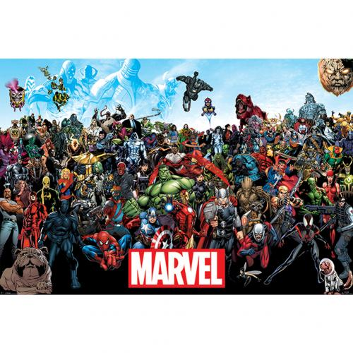 Poster Marvel Superheroes 238110