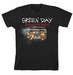 T-shirt Green Day Revolution Radio Cover