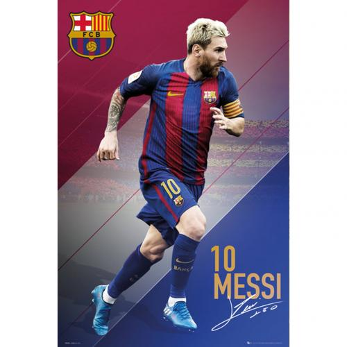 Poster Barcellona Messi 83