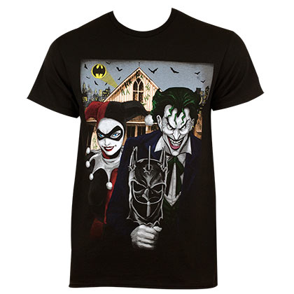 T-shirt Harley Quinn The Joker American Gothic