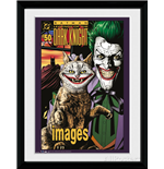Batman Comic - Joker Cat (Foto In Cornice 30x40cm)