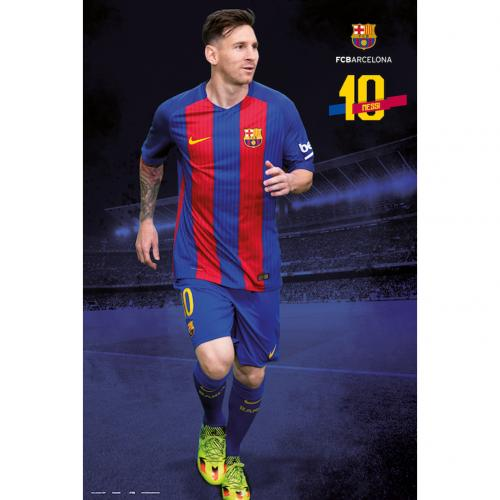 Poster Barcellona Messi 18