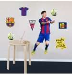 Sticker Murale Barcellona Messi