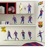 Sticker Murale Barcellona 11 Players