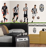 Sticker Murale Juventus 4 Top Players