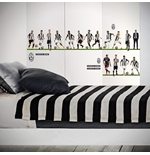 Sticker Murale Juventus 16 Players