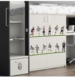 Sticker Murale Juventus 12 Players