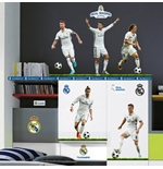 Sticker Murale Real Madrid 5 Top Players