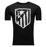 T-shirt Atletico Madrid 2016-2017 (Nero)