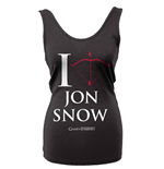 Canotta Il trono di Spade (Game of Thrones) I Love Jon Snow