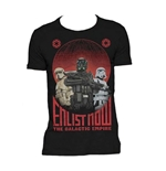 T-shirt Star Wars Rogue One Enlist Now