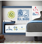 Sticker Murale Real Madrid Logo Vintage