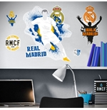 Sticker Murale Real Madrid Logo Urban