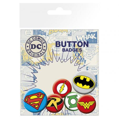 Set Spille Supereroi DC Comics