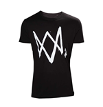 T-shirt Watch Dogs - Logo
