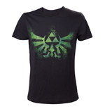 T-shirt The Legend of Zelda Green Triforce Logo