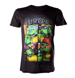 T-shirt Tartarughe Ninja Bright Graffiti