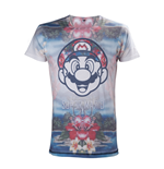 T-shirt Super Mario - tropical Mario