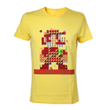 T-shirt Nintendo - Yellow Mario Maker