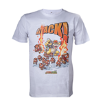 T-shirt Super Mario - Bowser Attack
