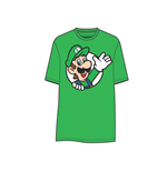 T-shirt Super Mario - Luigi waving