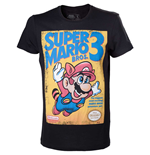 T-shirt Super Mario Bros 3