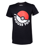 "T-shirt Pokémon "" I Choose you"""