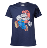 T-shirt Nintendo - Mario Word Play